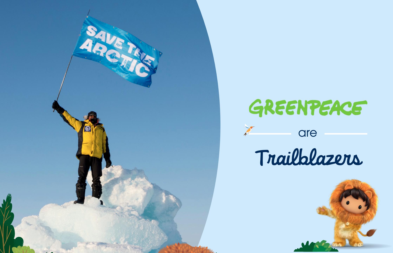 Greenpeace Nordic is a Nonprofit Trailblazer